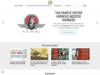Tayyareci Vecihi Hürkuş Müzesi Derneği Web Sitesi