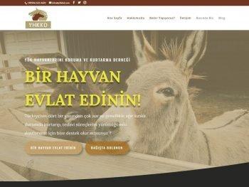 Yük Hayvanlarını Koruma ve Kurtarma Derneği Web Sitesi
