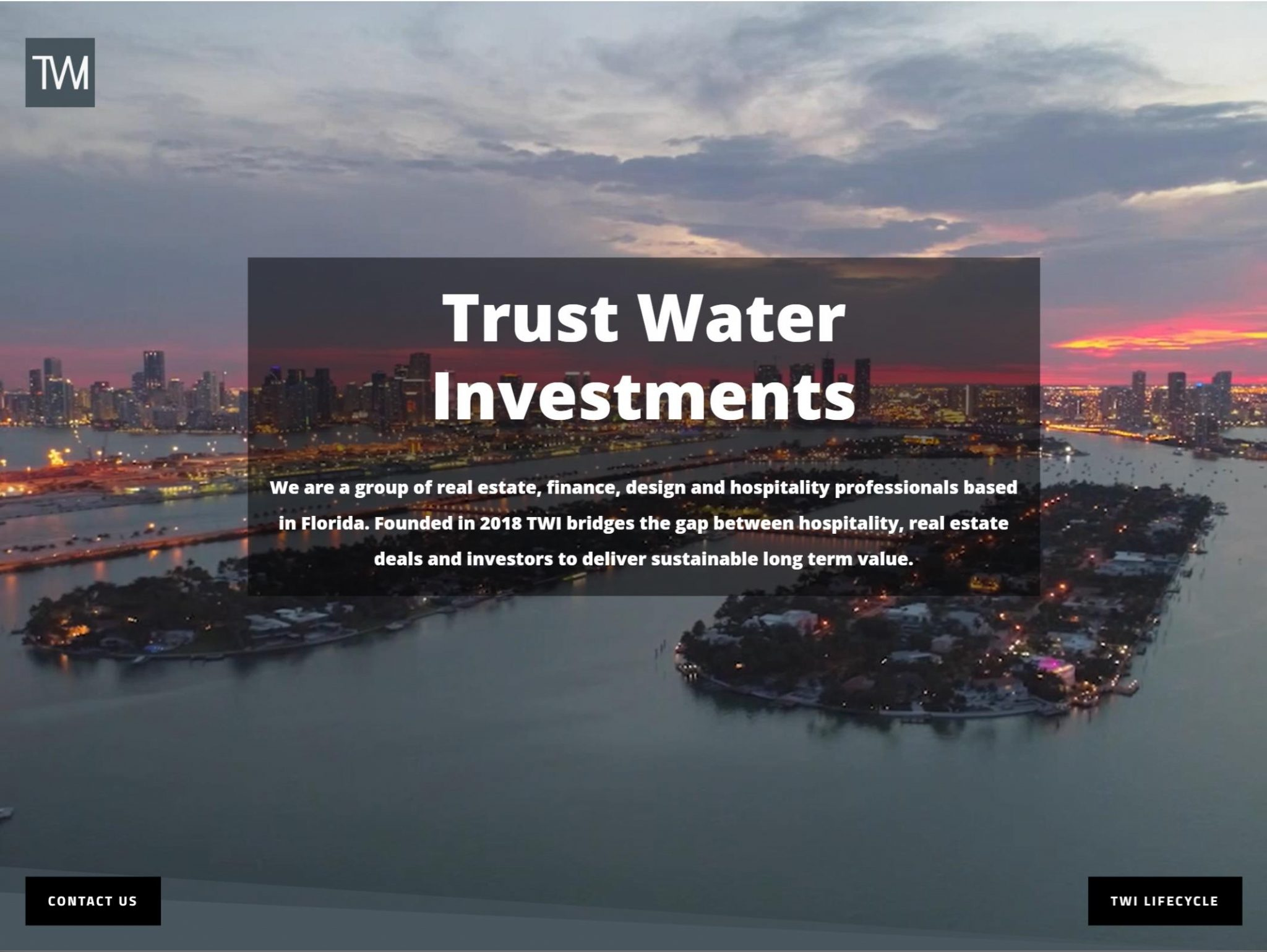 Trust Water Investment